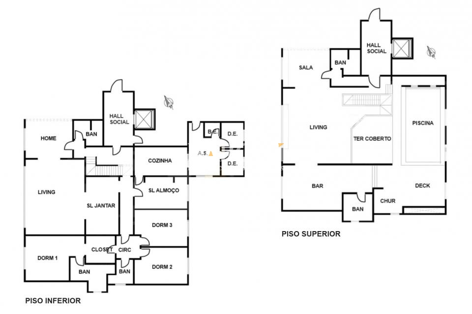 Cobertura Triplex de 5 dormitórios à venda em Itaim, São Paulo - SP