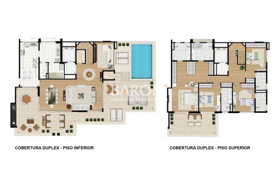 Cobertura Duplex de 4 dormitórios em Vila Nova Conceição, São Paulo - SP