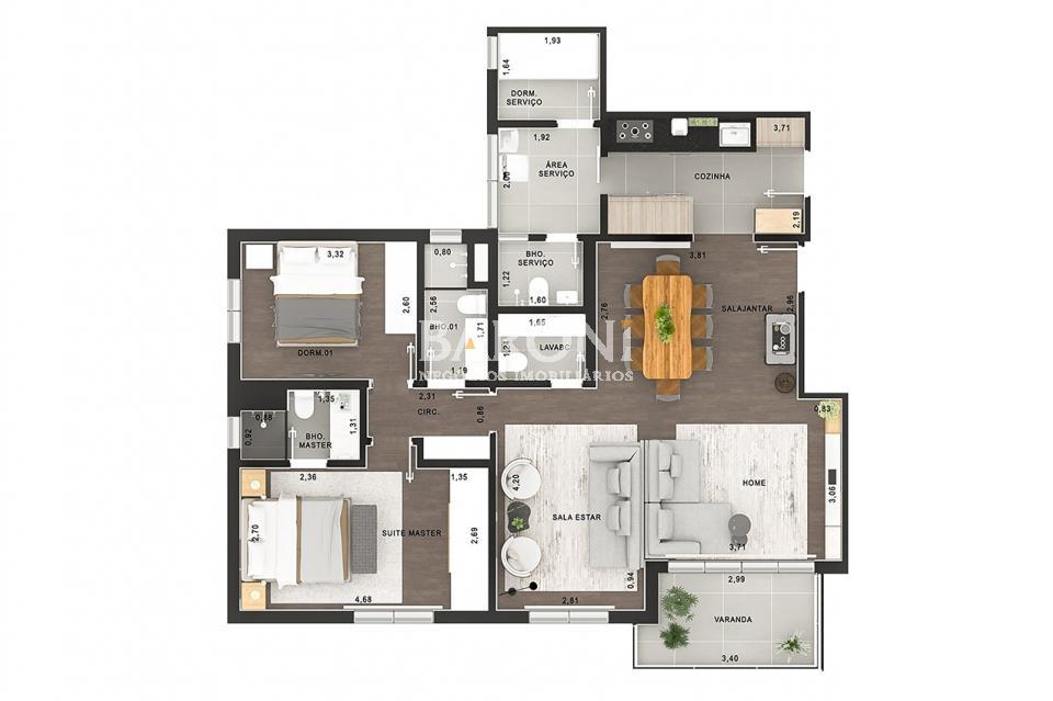 Apartamento - Vila Nova Conceição